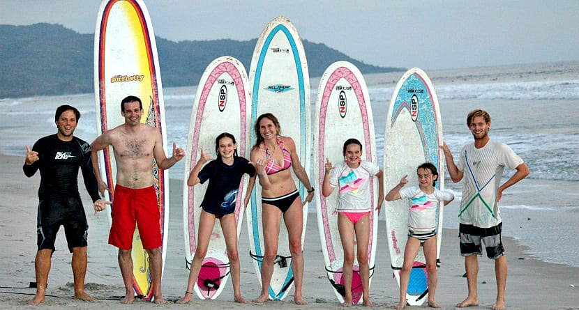 Family Surf Package